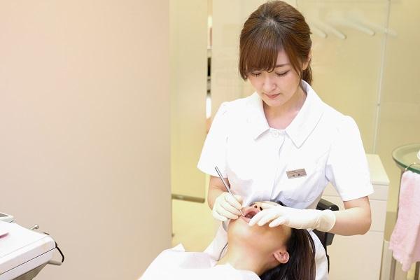 短期集中審美歯科治療1回目