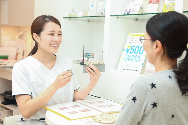 テトラサイクリン歯の相談風景